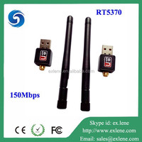 New products 2015 150Mbps rt5370 ralink usb wifi adapter antenna