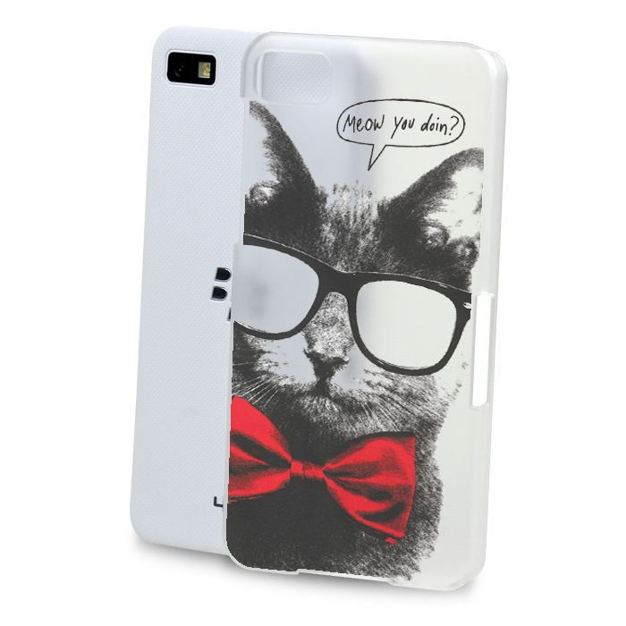 Case For Blackberry Z10 <strong>Q10</strong> Z20 Classic cat monkey painting non-slip material