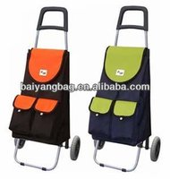 2014 New style folding trolley bag