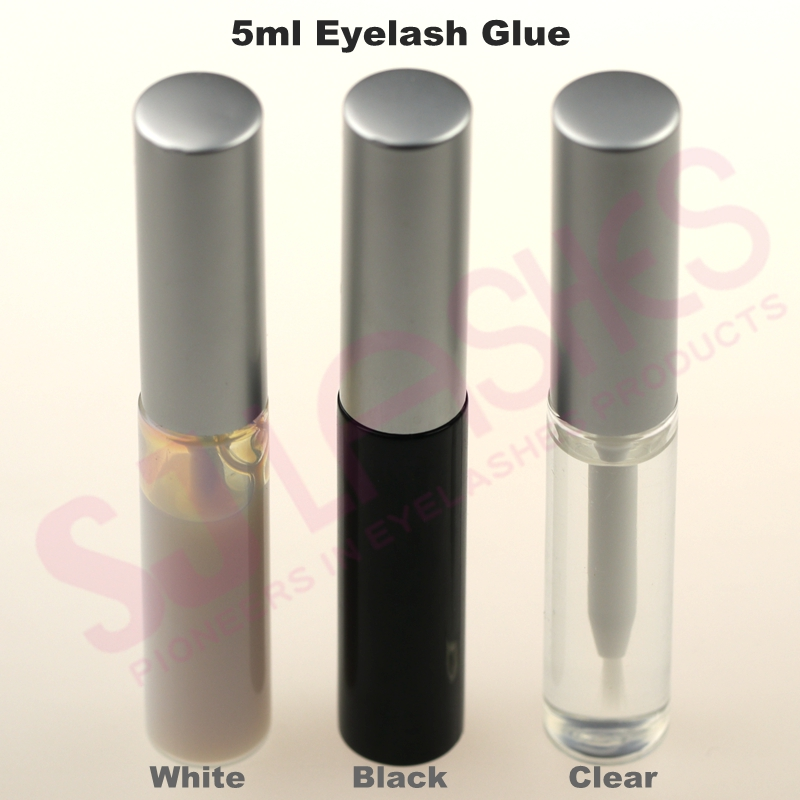 Private Label White/Black/Clear glues Prime Quality Korean Strip Lash Glue False Eyelash Adhesive