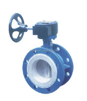 2016 Factory customized exhaust ships butterfly valve for fire fighting
