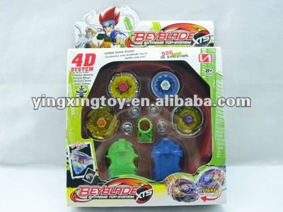 new products led flash 4D beyblade top toys