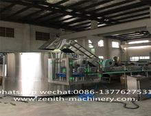 Mini Bottled Automatic Aerated Water Production Canning Machine/Equipment Line/Soft Drink