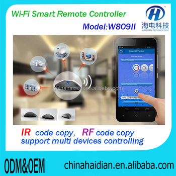 web home automation remote controller via APP and IR&RF home automation remote controller/home auotmatioin internet controller