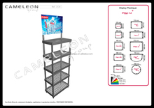 cars accessories display racks / retail store display rack / department store display cabinet