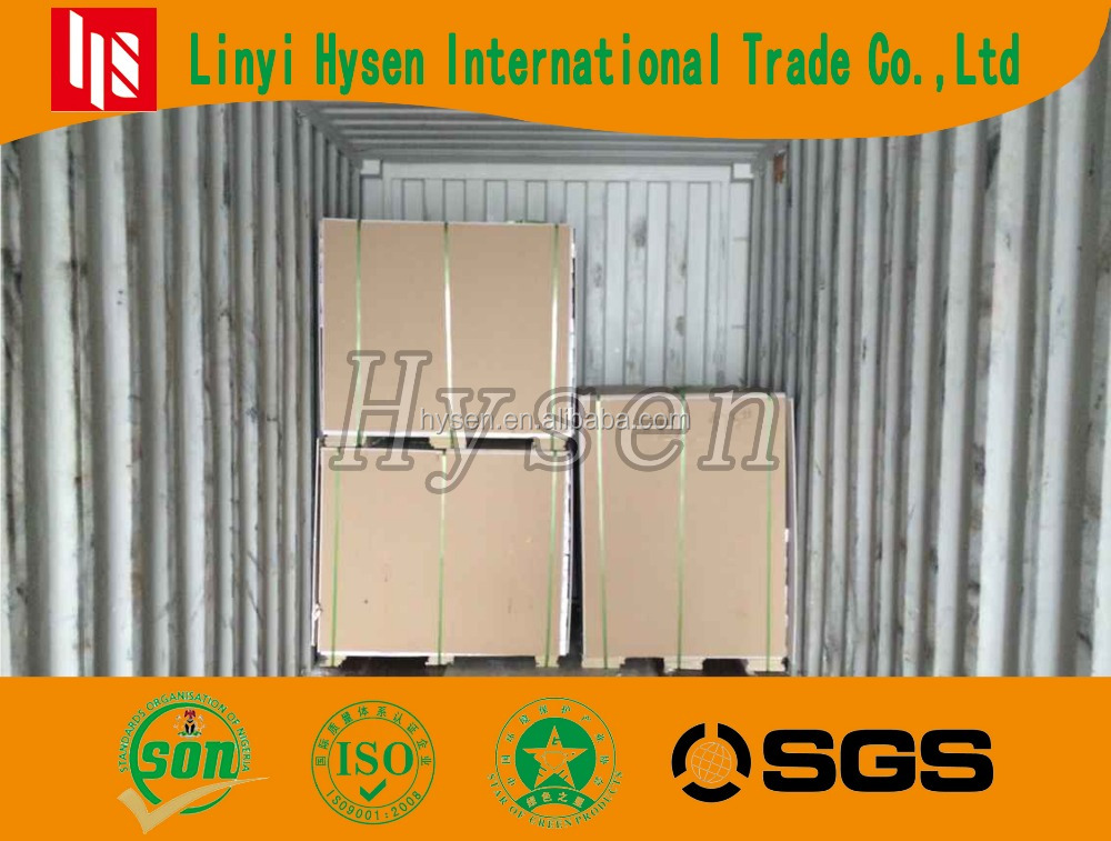 gypsum board for ceiling and partition strong quality cheap price fast delivery