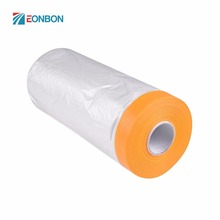 EONBON Free Samples Dustproof Pre Taped Plastic Sheeting