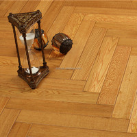 Antique OAK Herringbone Solid Wood Flooring Chinese 2015 New Brand