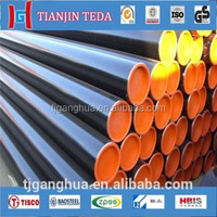 professional manufacturer ASTM A 106 GR B API 5L steel pipe for oil and gas