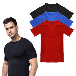Men's Quick Drying Sport T-Shirts Tee Shirt Slim Fit Tops New Sport Shirt