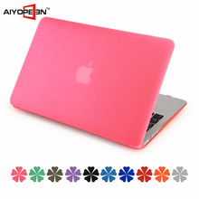 Hot Selling Laptop Rubberized Hard Case for Macbook 13.3 inch, Wholesale laptop hard plastic case for Macbook air