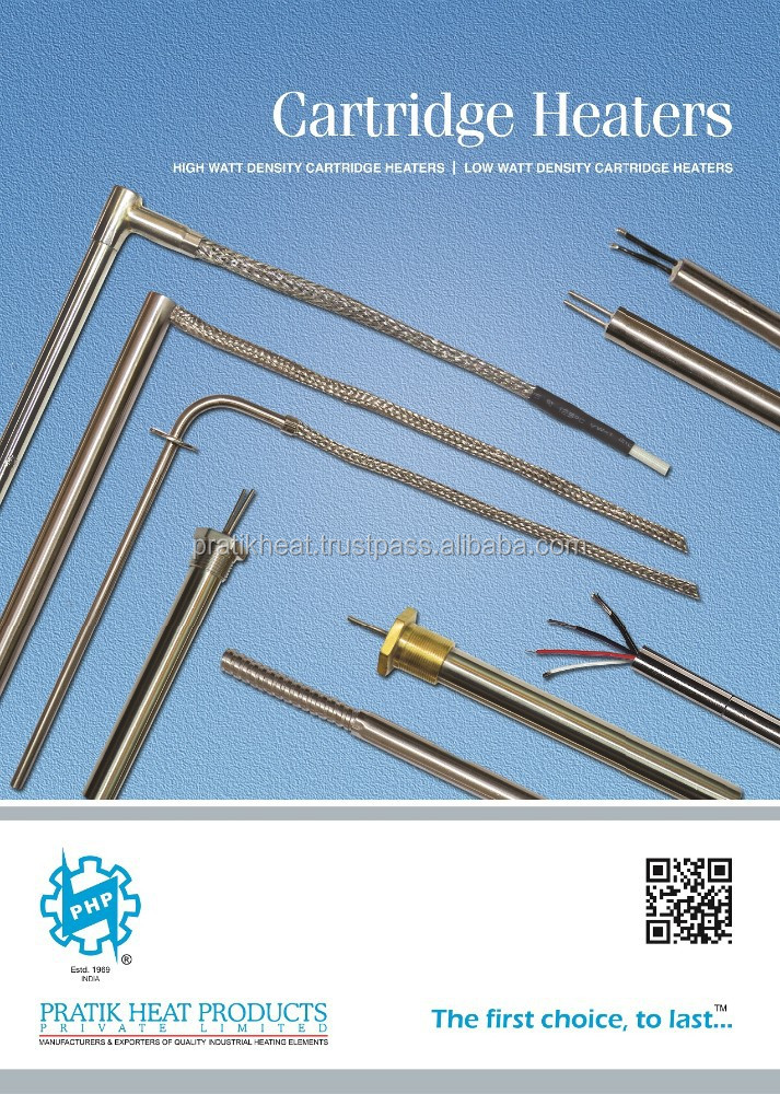Cartridge Heaters High Watt Density with Thermocouple