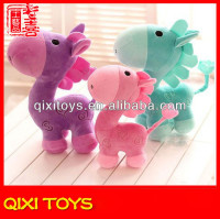 Cartoon lovely horse plush toy