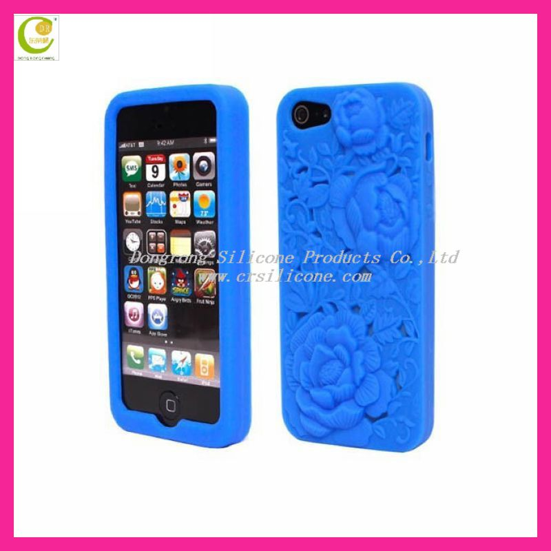 Amazing back protector silcione card holder case for iphone5
