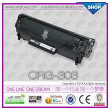 For canon inkjet printer toner cartridge CRG 103 303 703 for canon sd laser 303