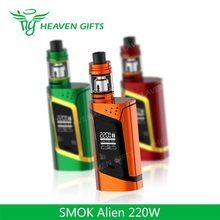 Heaven Gifts Wholesale 3ml/ 2ml Smok tech Alien 220 new generation vaporizer e-cig