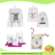Colorful recycled cheap drawstring bag used for small gift made in guangdong