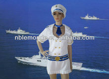 wholesale best seller white sexy navy uniform for girl