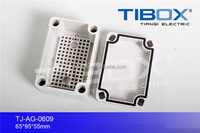 IP66 PC waterproof plastic enclosures for electronics from TIBOX, with UL certificate