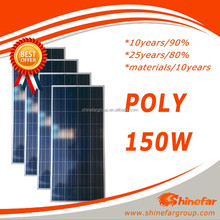 solar panel cell germany poly 150w soft solar panel