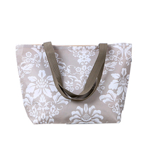 eco nylon foldable reusable fashion tote shopping bags easy and colorful shopping bag