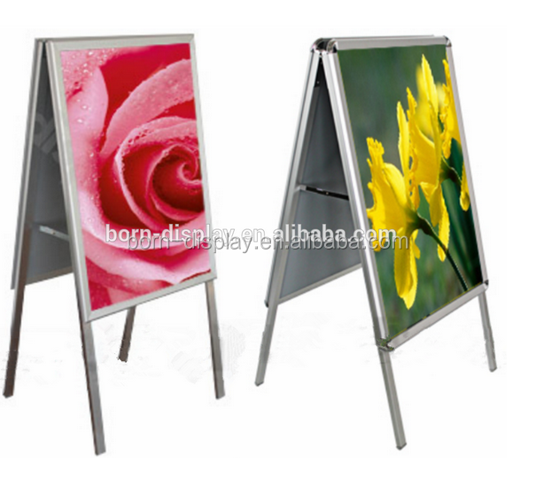 Aluminum Frame Material and Rectangle or Square, Shape Illuminated Poster Frame Signs