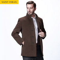 Fashion design wool camel heavy winter coat