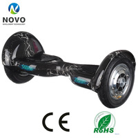10 Inch Two Wheels LED Light Safe Smart Thunder Electric Scooter