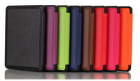 PU Leather Case For Amazon Kindle E-Book Case, For Amazon Touch Ereader Leather Case