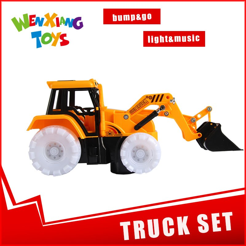 battery operated truck kids crane machine for sale