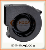 Customized 93x93x30mm 9330 12 24 volt long lifetime low noise NMB ball bearing dc blower fan