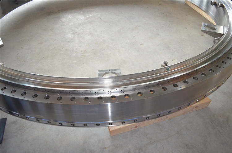 Large Diameter Stainless Steel Machining With High Precision End Ring
