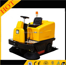 gas powered snow sweeper automatic road sweeper machine floor scrubber cleaning machine