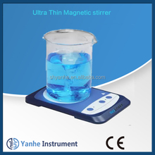 Ultra - thin 0.8 L laboratory magnetic stirrer with IP65 Protection class