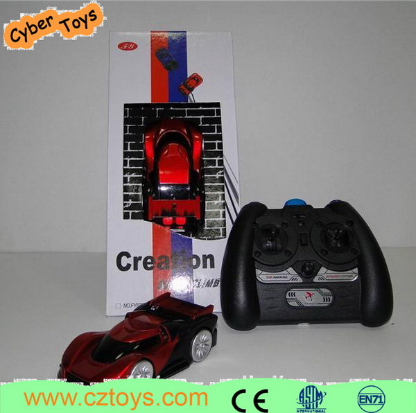Cool Rc Wall Climbering Car Plastic Infrared Control Model