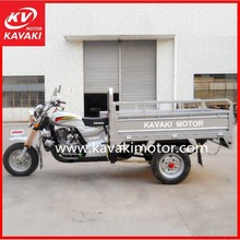 Folding Carriage Bajaj Three Wheel Open Driving Cab Motor Cargo Tricycle With Cargo Box