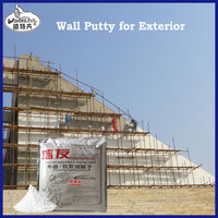 QW01 anti-crack wall putty for top coat rendering