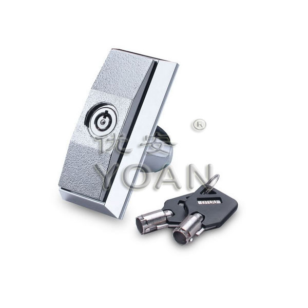 T-handle candy/vending machine lock atm master key
