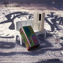 New arrival Teslacigs COLT MINI 80W, compact design and built in battery from Tesla factory supply directly