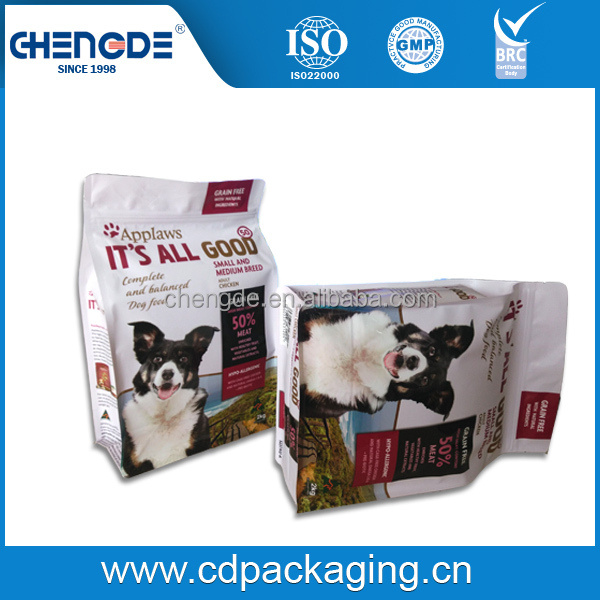 top open dog food cheap Food packaging pouch