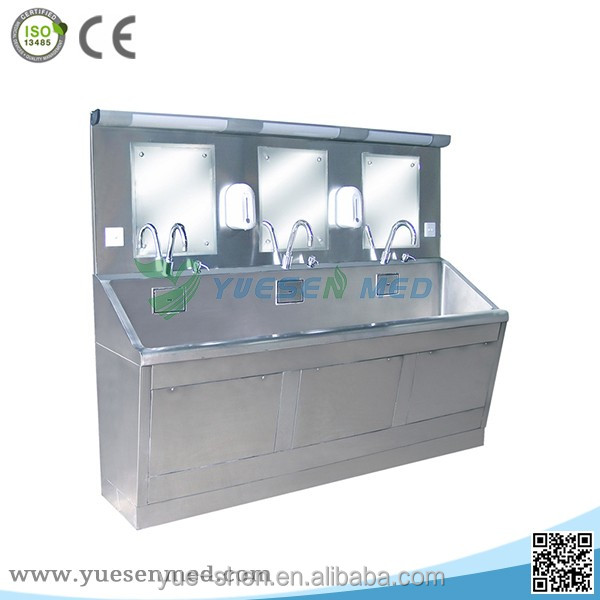 custom-made mortuary 304 stainless steel water sink