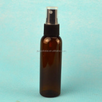 Hot selling 2 oz spray bottles 60 ml amber plastic bottle with fine mist sprayer for wholesale
