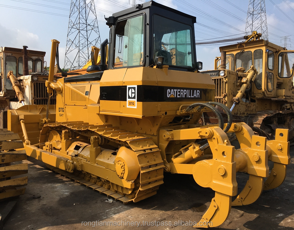 Good Quality Used Caterpillar Bulldozer D7G for sale / Cat Dozer with low price