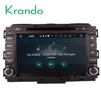 "Krando Android 7.1 8"" car navigation gps for kia carnival 2015+ car radio dvd player touch screen 2g+16g wifi 4g KD-KC815"