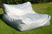 Gray waterproof bean bag, floating bean bag sofa chair , XXL big lounge on water or poolside