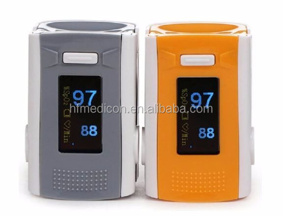 Coloful Home Use Mini Oxygen Pressure Meter Pulse Oximeter Finger