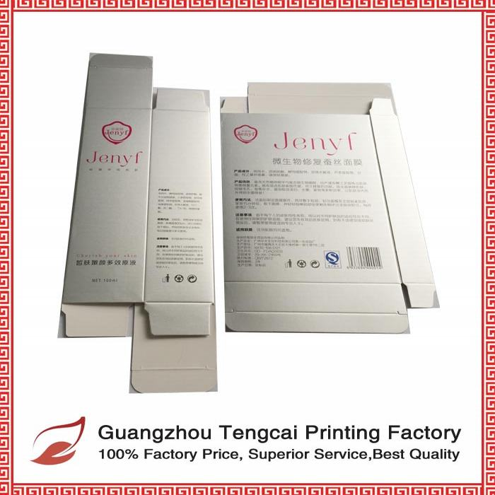High Quality Custom Unique Luxury Paper Boxes for Emulsion Packaging