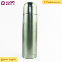 Bullet shape stainless steel thermos flask with painting color