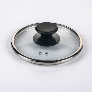 4mm clear custom pan lid round tempered glass electric pressure cooker lid