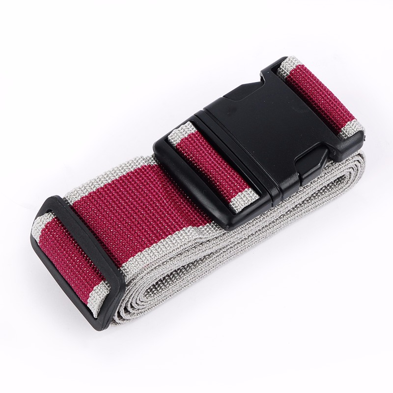 Personalized Fashion Custom Polyester Belts Security Luggage Straps